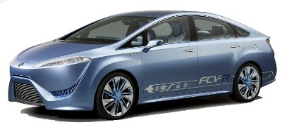 Présentation du concept-car Toyota FCV-R Concept.