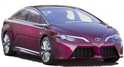 Présentation du concept-car Toyota NS4 Plug-In Concept.