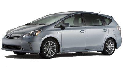 La Toyota Prius V est le premier monospace à motorisation hybride